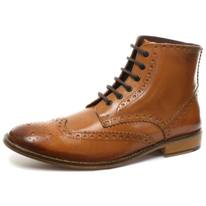 Chaussures London Brogues marron Casual homme HwtzjC