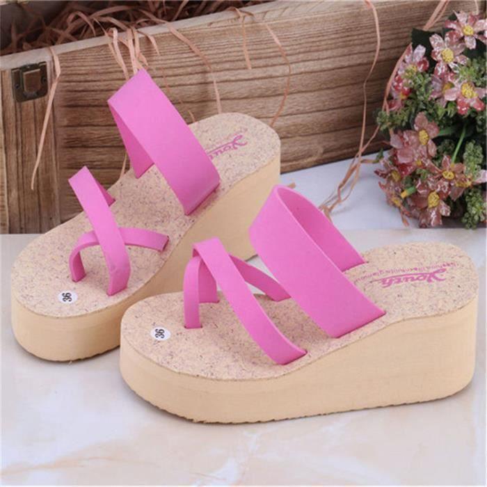Sandale Femme Durable Nouvelle Respirant Mode Sandales Plus De Couleur Nouvelle Chaussure Mode Meilleure Qualité Antidérapant 35-39 7cSbBXHh