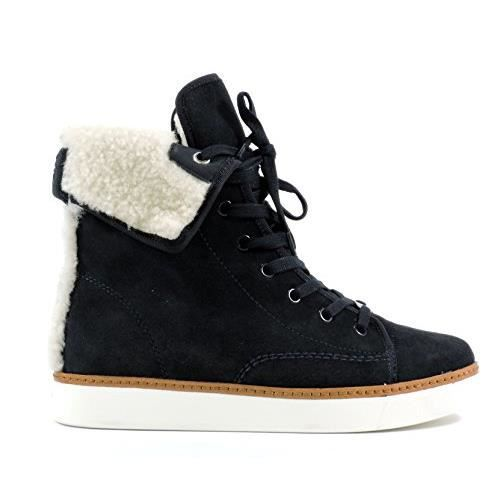 Femmes Coach Ramsey Shearling Bottes