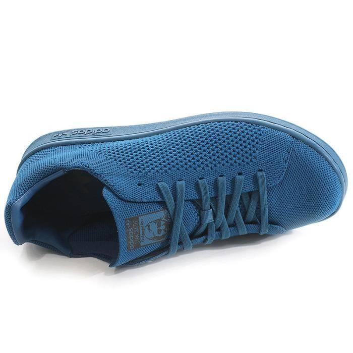 Chaussures Stan Smith Primeknit Bleu Garçon Adidas