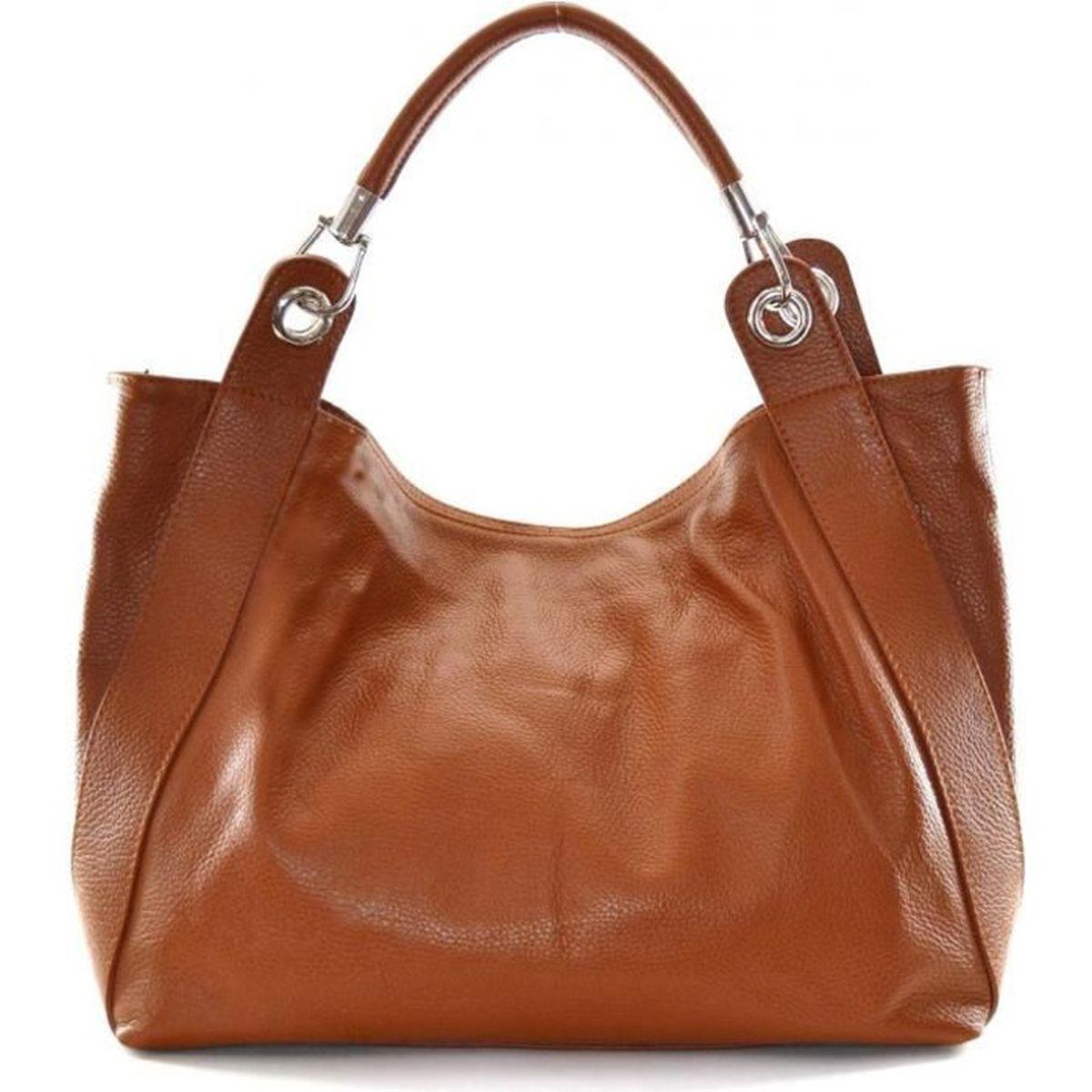 sac cuir femme cognac achat vente sac cuir femme cognac pas cher cdiscount. Black Bedroom Furniture Sets. Home Design Ideas