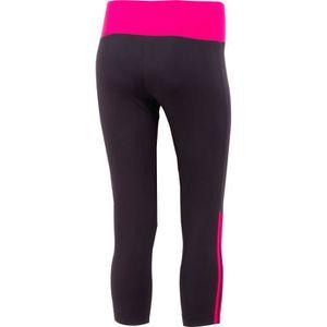 PANTACOURT DE RUNNING ADIDAS Legging 3/4 femme Guoba - Noir