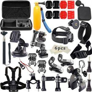 PACK CAMERA SPORT 33en1 Accessoires Kit pour Caméras SJ4000-SJ5000-S