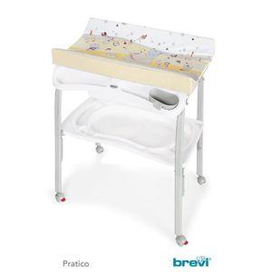 TABLE À LANGER BREVI PRATICO Table à langer pliante PLOUF - Caram