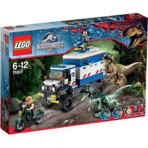 ASSEMBLAGE CONSTRUCTION LEGO Jurassic World 75917 La Destruction du Véloci