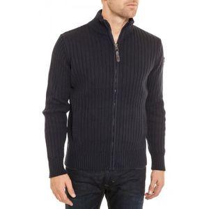 GILET - CARDIGAN Schott Pull-Sweatshirt Plrage1 navy