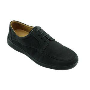 POET – Mocassin EXTRA SOUPLE en largeur plus chaussures Homme grande largeur confortable et flexible pieds sensibles cuir noir S7rCmmt4nR