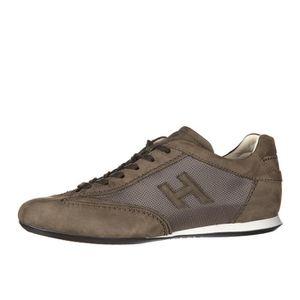nouveau produit 01f5c 8831d Chaussures baskets sneakers homme en daim olympia slash ...