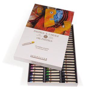 PASTELS - CRAIE D'ART Coffret de 72 pastels à l'huile