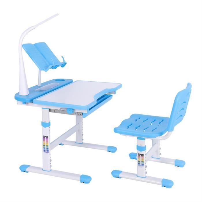 Ergonomique Bureau Chaise Enfant Hauteur Ajustable Plaque