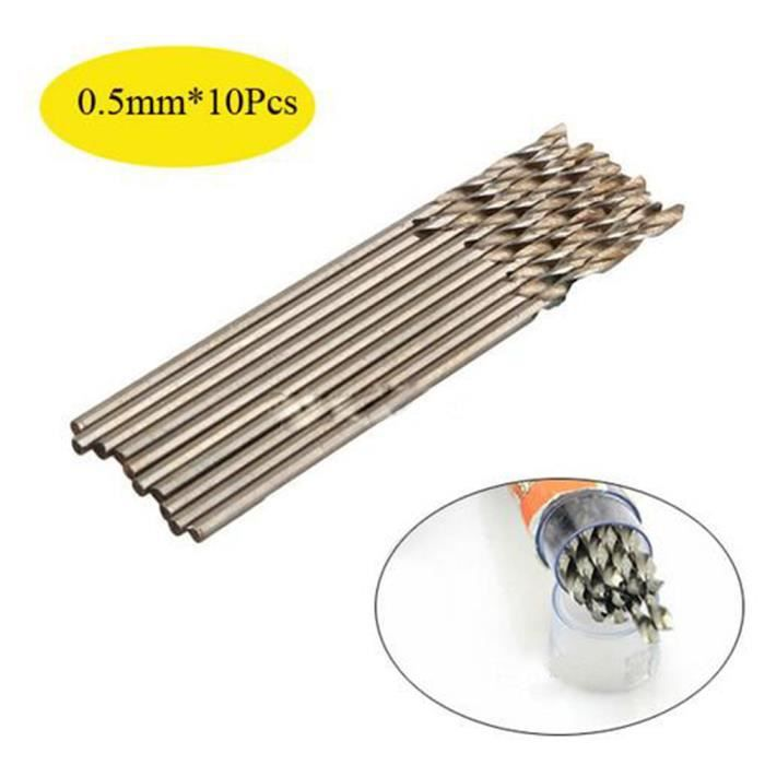 Foret perceuse 0.5mm
