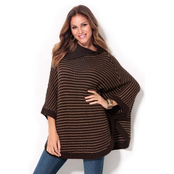 poncho cape en laine femme achat vente poncho cape en laine femme pas cher soldes d s le. Black Bedroom Furniture Sets. Home Design Ideas