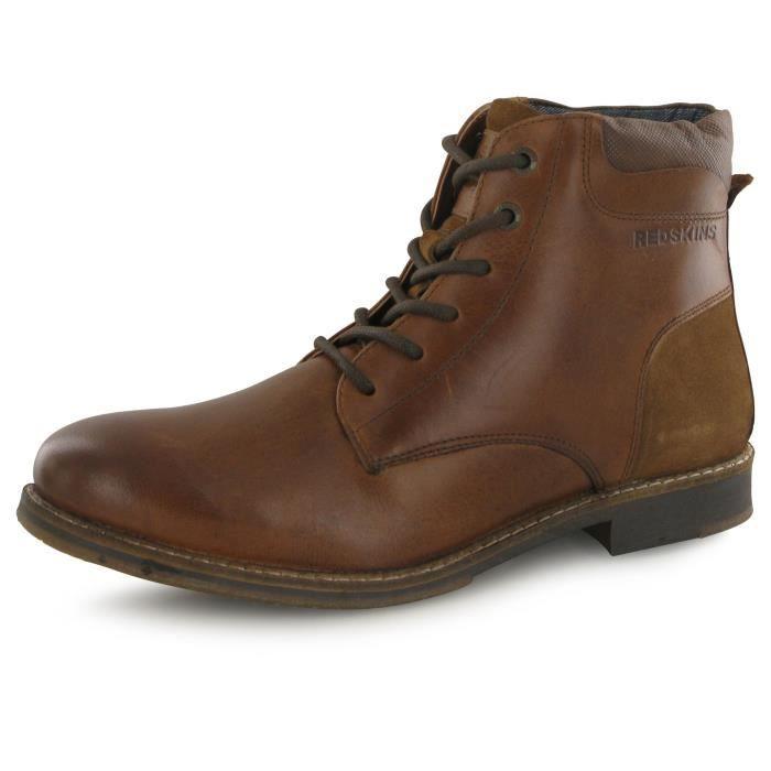 Redskins Jivaro marron, boots homme