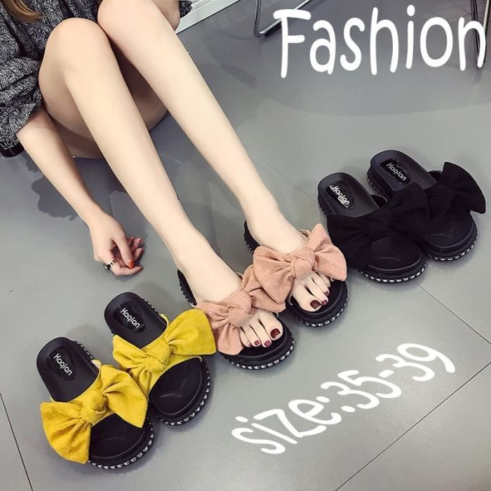 Chaussons pour Femmerose 36 2017 Mode New Style Accueil extérieur Chaussons Casual_55005 AQy9Iw6b