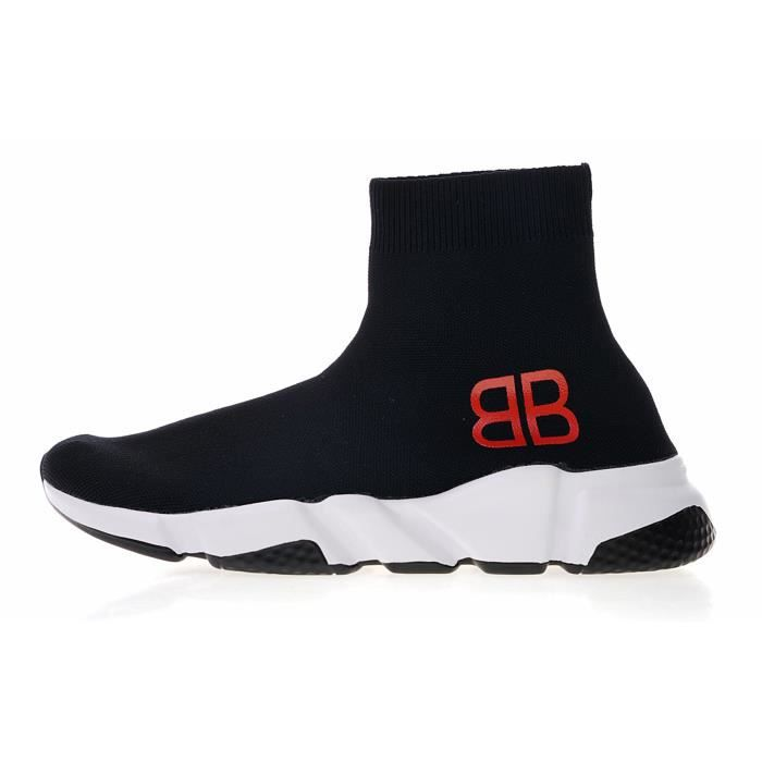 Black And Red Balenciaga Speed Trainers Mount Mercy