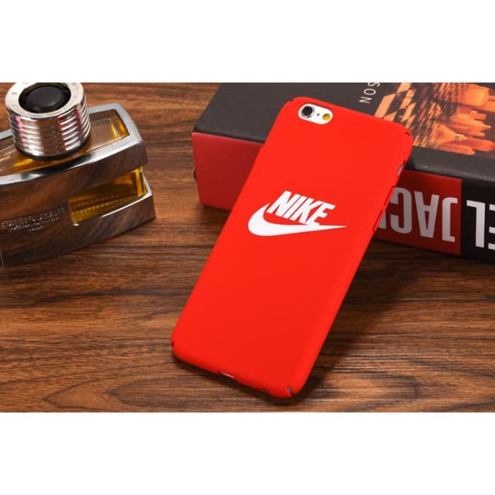 coque iphone 6 rouge nike