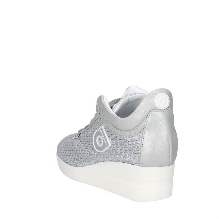 Agile By RucolinePetite Sneakers Femme Argent , 36
