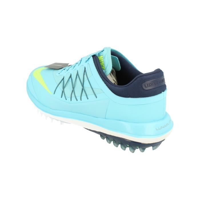 Nike Lunar Control Vapor Hommes Golf Chaussures 849971 Trainers Sneakers 400