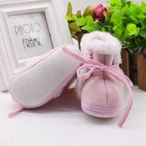 BOTTE Toddler bébé nouveau-né ours doux semelle bottes bottes Prewalker chaud@BleuHM TSf3EjpP