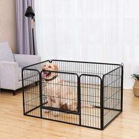 ENCLOS - CHENIL Royalbell Parc pour chien enclos pliable en fer po