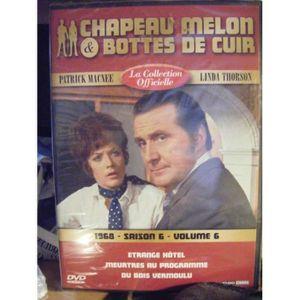 DVD SÉRIE Chapeau melon et bottes de cuir -S6 V6 -1968 -ETRA