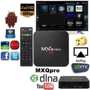 BOX MULTIMEDIA MXQ PRO Android 5.1 TV Box RK3229 4K HD Quad Core