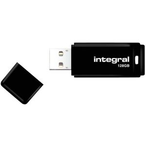 DISQUE DUR SSD Integral - Clé USB - 128 Go - USB 2.0 - noir