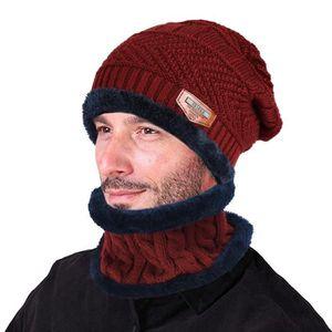 BONNET - CAGOULE Vbiger Bonnet d hiver Tricot Chaud Durable Pour Ho ... be0e204b536