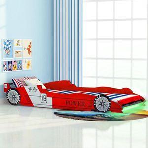 STRUCTURE DE LIT Lit voiture de course Lits de bébé Structure de li