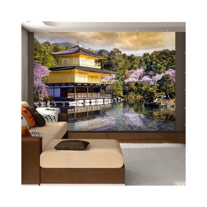 Papier Peint Paysage Japonais Dimension 350x245 Achat Vente