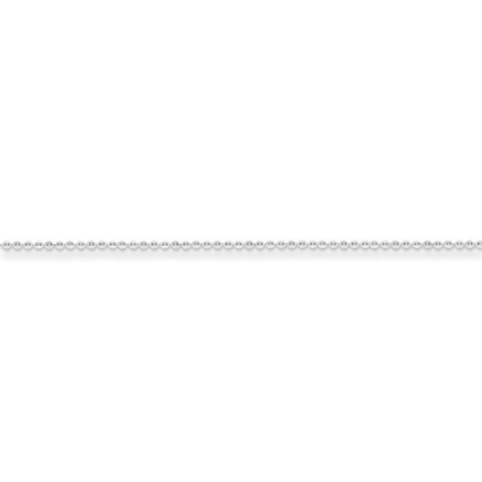 Argent fin 925/1000 1.15 mm câble chaîne collier 20 pouces
