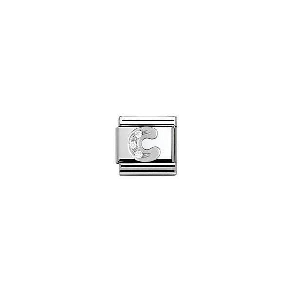 NOMINATION Maillon Bracelet Argent 925°et Acier