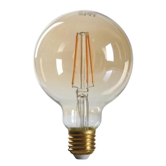 Expertline E27 À Chaud Led Blanc Ampoule W 4 38 Ambrée Filament Équivalent wXPOukilZT