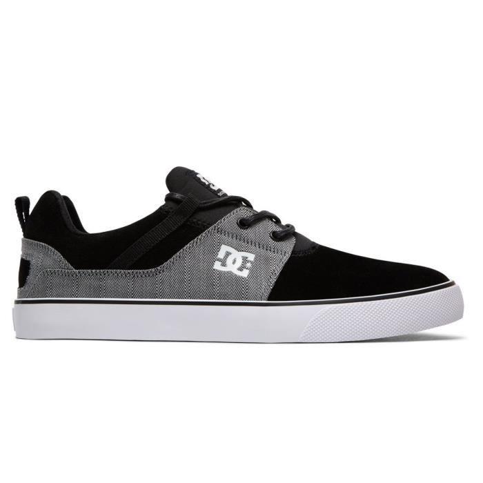 Chaussures Heathrow Vulc SE Noir/Gris - DC Shoes