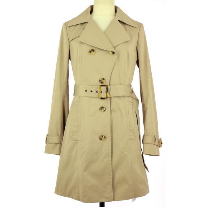 Trench MEXX FR 38 Beige Beige - Achat   Vente imperméable - trench ... 8f367bf7cfa