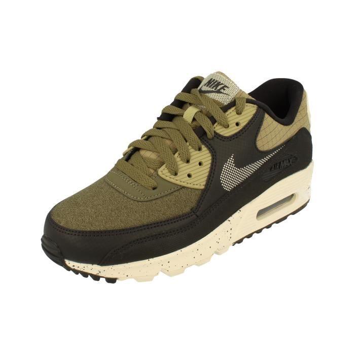 Détails sur NIKE AIR MAX 90 PREMIUM chaussures hommes basket gris sport sneaker 700155 016