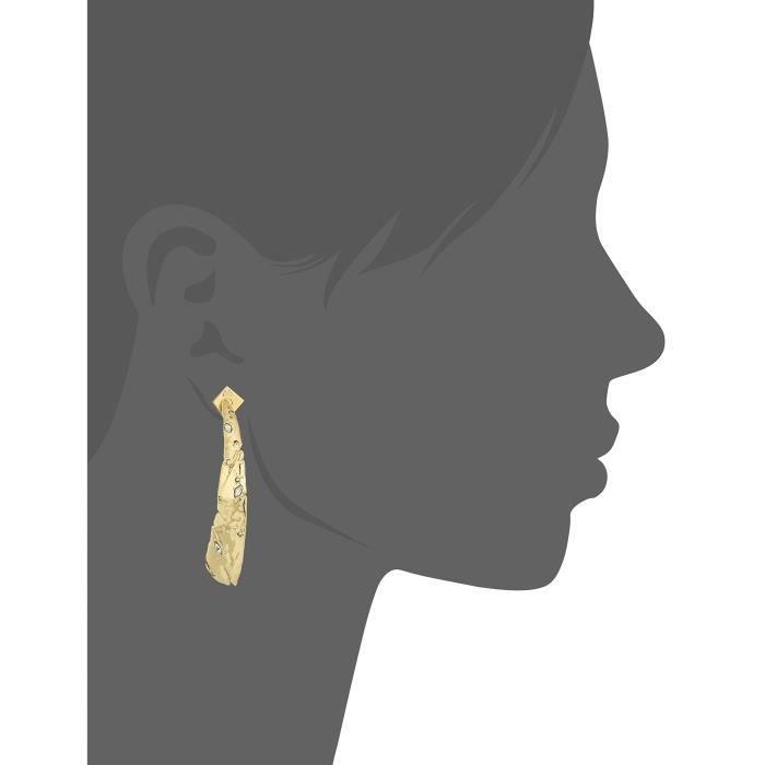 Fall 2017 Rocky Metal Tapered Post Earrings VYPVK