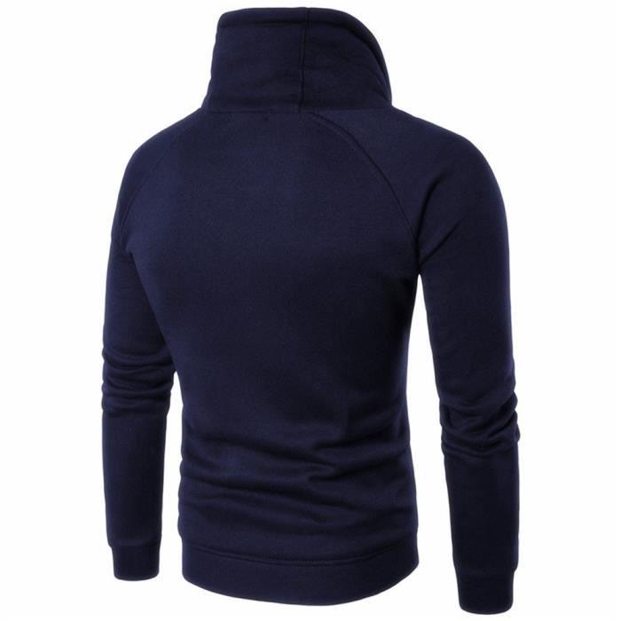 T-shirts en coton à manches longues pour hommes occasionnels