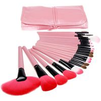 PINCEAUX DE MAQUILLAGE Pinceaux de maquillage professionnels portables 24