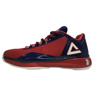 PEAK Chaussures de sport TP4 - Bleu / Rouge