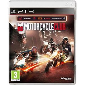 NEW 3DS - 3DS XL JEU PS3 MOTORCYCLE CLUB
