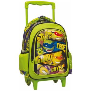 CARTABLE Sac à roulettes maternelle Tortue Ninja Good Guys