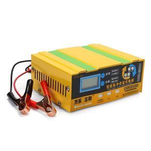 CHARGEUR DE BATTERIE 110-250V 12V-24V 200Ah Batterie Chargeur Intellige