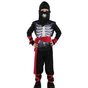DÉGUISEMENT - PANOPLIE 5pc Déguisement Maître Ninja Assassin Costume Hall