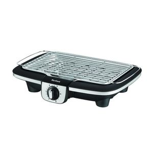 BARBECUE DE TABLE TEFAL BG901D12 Easy Grill Adjust Inox & Design Bar