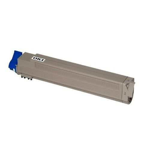 OKI Cartouche toner 43837131 - Compatible C9655 - Standard 22.000 pages - Cyan