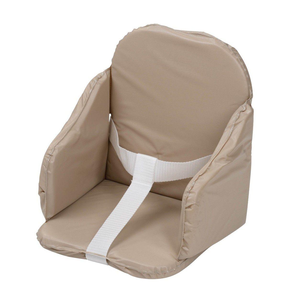 Sangles pour maintenir bébé- Confortable - Intérieur mousse - Extérieur PVC facile à nettoyerCHAISE HAUTE - COUSSIN CHAISE HAUTE - PLATEAU CHAISE