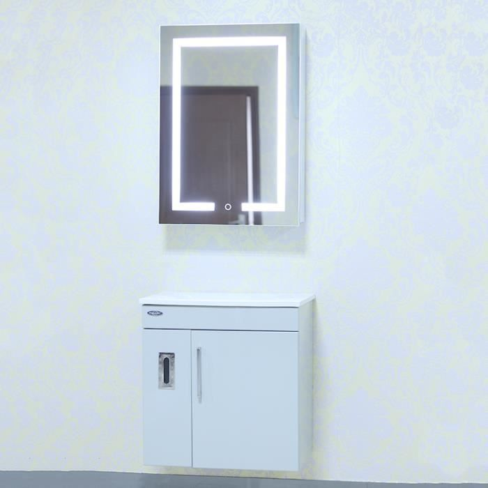 miroir rangement salle de bain led - achat / vente miroir