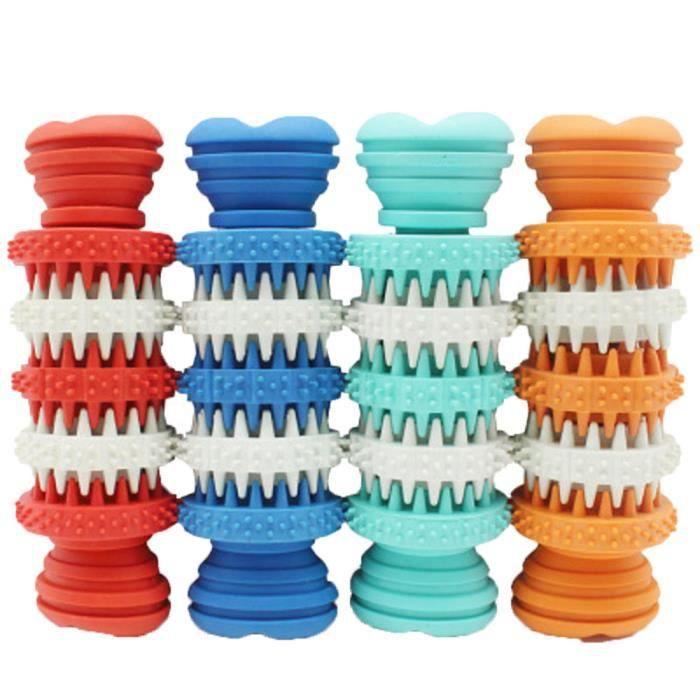 Chien Pet Caoutchouc Dents Dentaires Chew Os Jouer Formation Fetch Jouets Fun Hot Ycc70718551_911