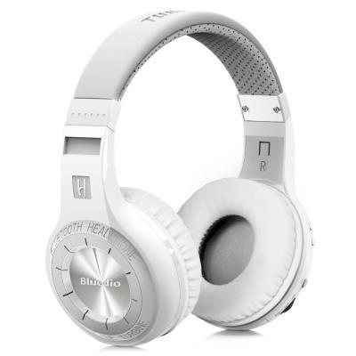 Bluedio Ht Casque Bluetooth Sans Fil Stéréo Avec Microphone Basses Puissantes Blanc